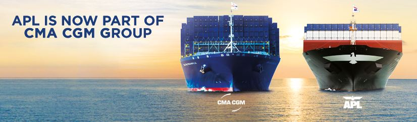 APL IS NOW PART OF CMA CGM GROUP